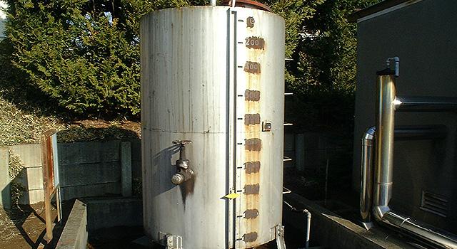 燃料タンク(施工前)