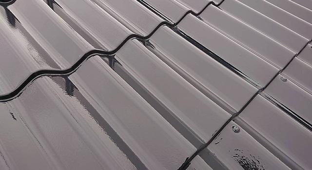 鋼板屋根の錆止め表面