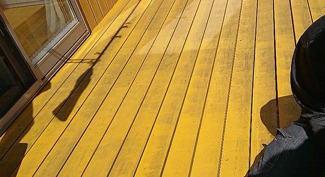ウッドデッキ・木部塗装