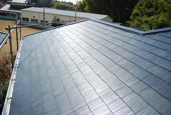 茨城県内どこでも屋根塗装いたします。