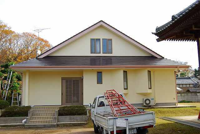 住宅塗装後