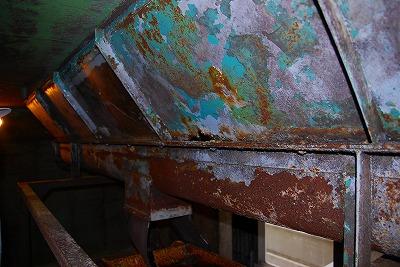 プラント工事の錆止塗装