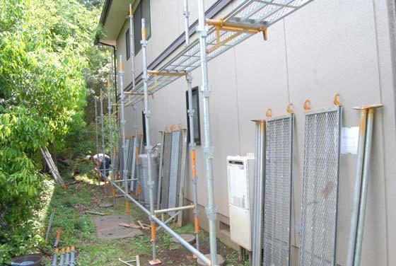 住宅用塗装足場