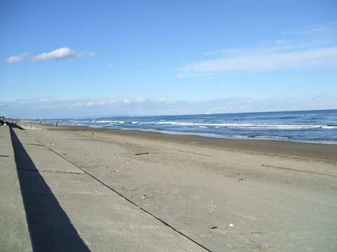 茨城は大洋の海。