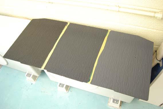 屋根塗料の塗装サンプル